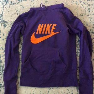 Nike hooded sweatshirt sz s